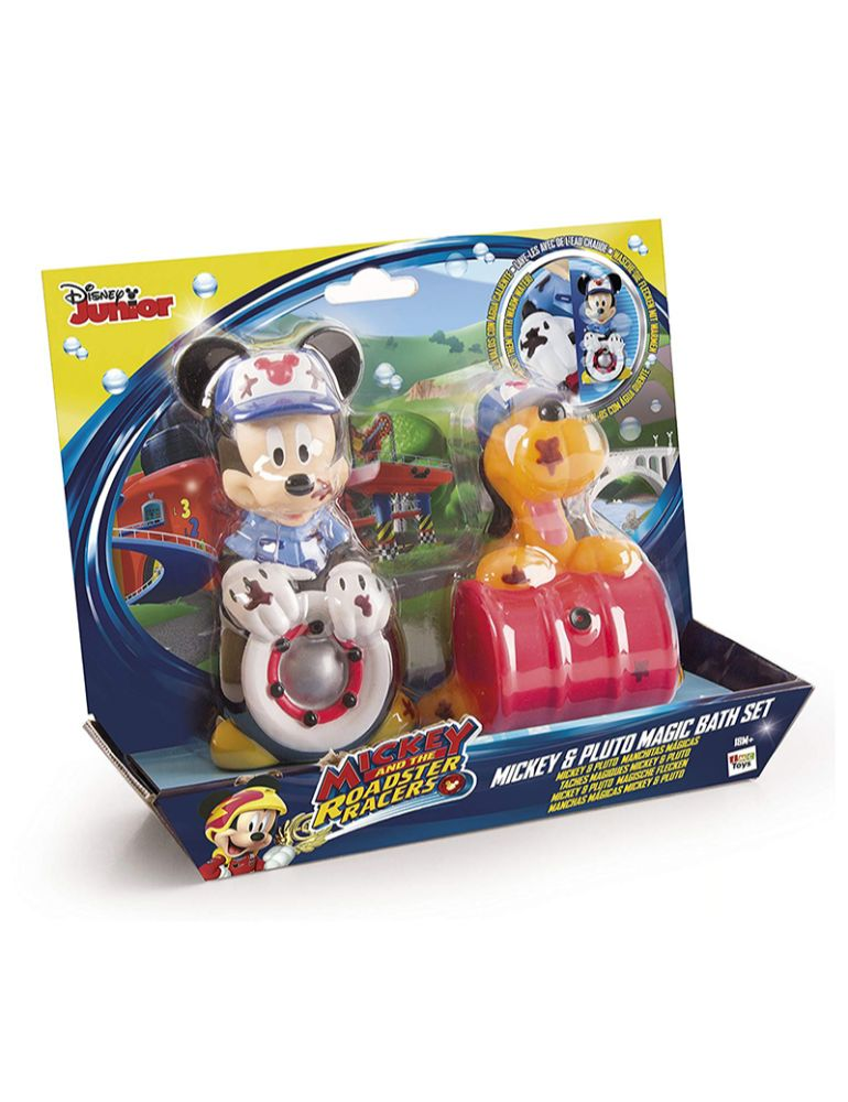DISNEY MICKEY Y PLUTO BATH SET (+3 años)