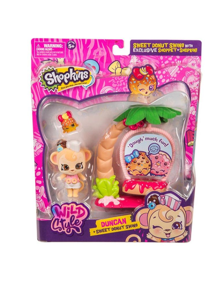 SHOPPETS PLAYSET DUNCAN Y MELONIE HOPS