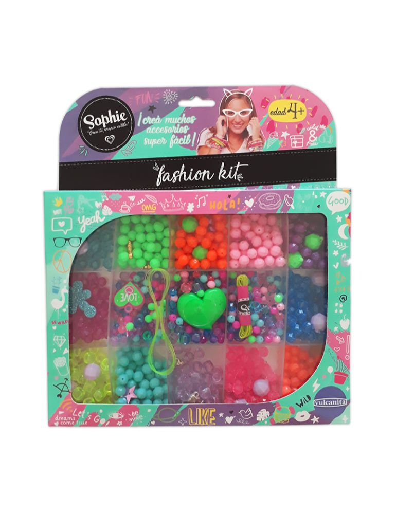 SOPHIE BIJOUTERIE FASHION KIT (+4 años)