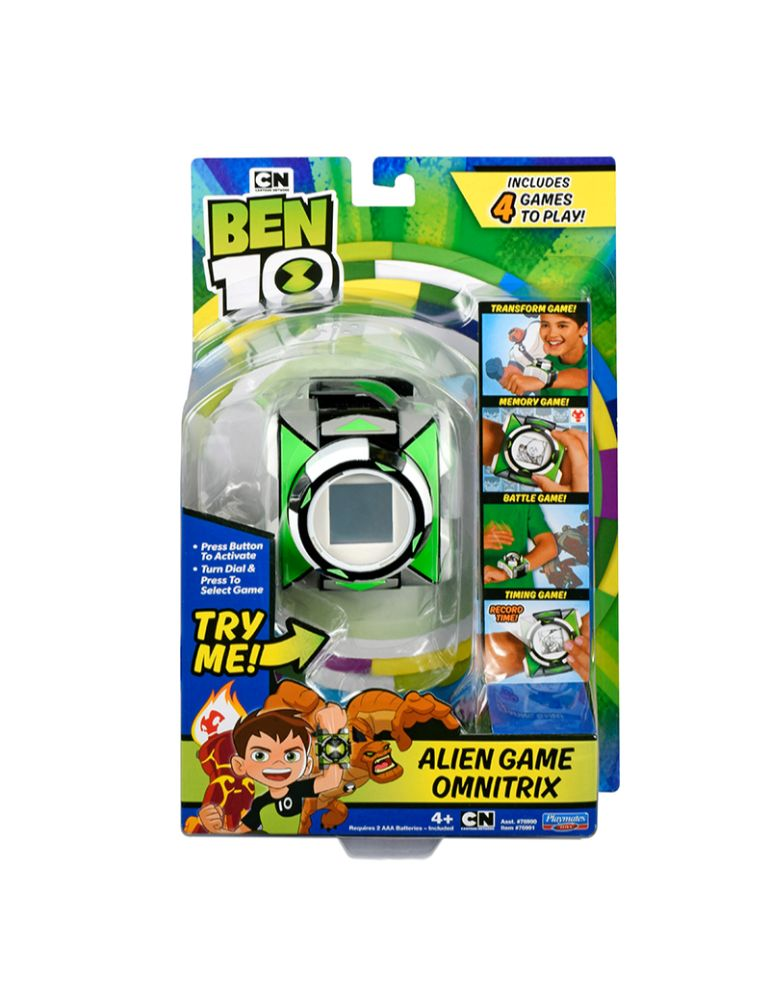 BEN 10 OMNITRIX ALIEN GAME