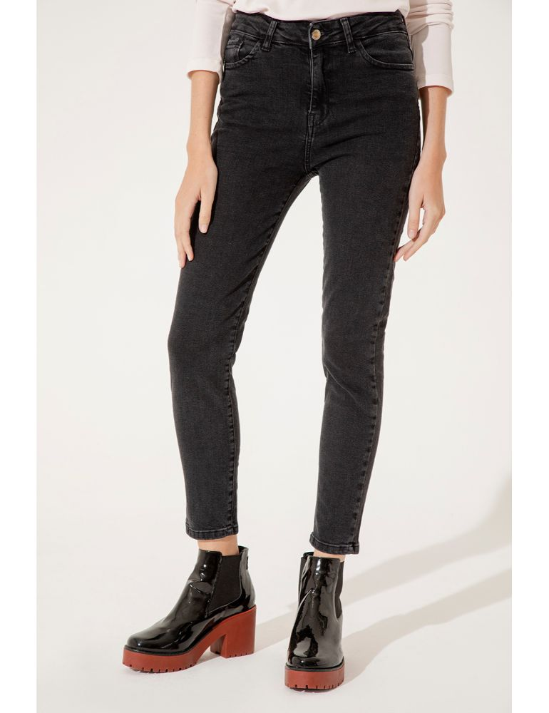 JEAN LIVERPOOL RAW BLACK